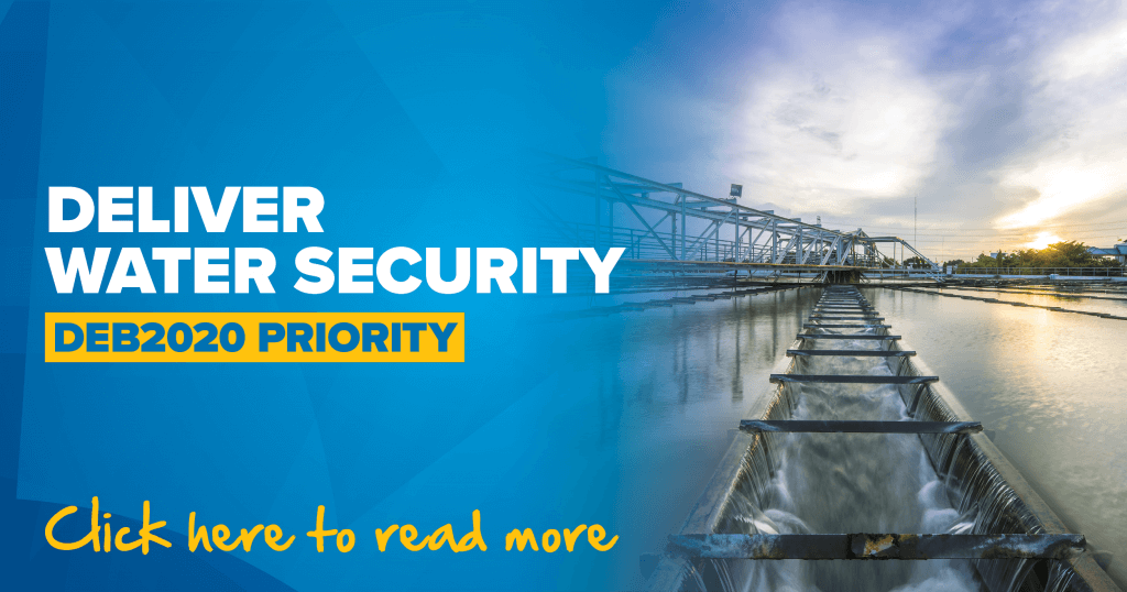 DELIVER WATER SECURITY